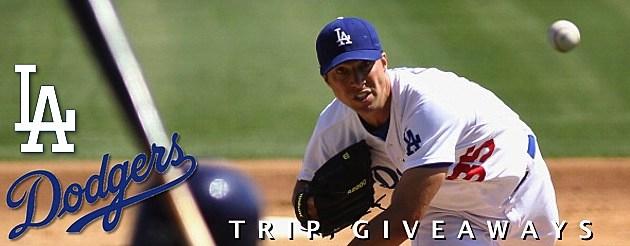Dodgers Trip Giveaways