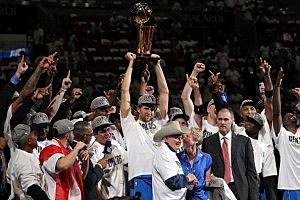 Dallas Mavericks win NBA Finals