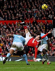 Wayne Rooney bicycle kick goal