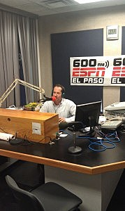 Steve Kaplowitz hosting Sports Talk on 600 ESPN El Paso