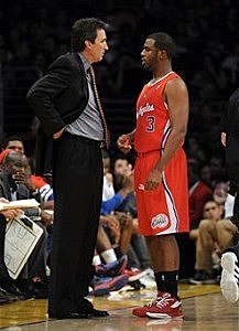 Vinny Del Negro and Chris Paul