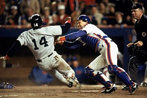 Red Sox v Mets 1986 World Series