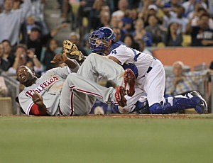 Philadelphia Phillies v Los Angeles Dodgers