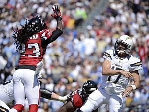 Atlanta Falcons v San Diego Chargers