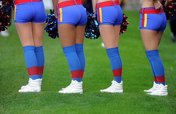 Crystal Palace Cheerleaders