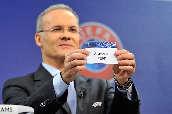 UEFA Champions League Play-off Round Draw