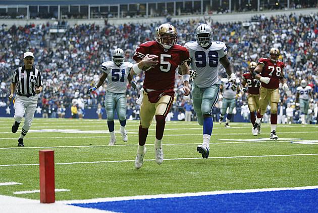 Garcia scores a touchdown
