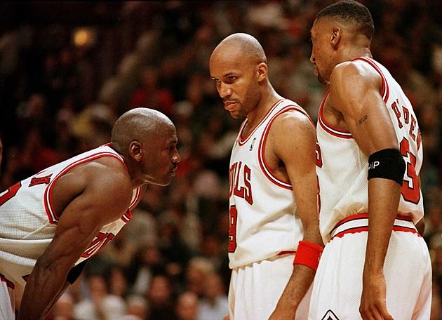Sonics at Bulls Jordan