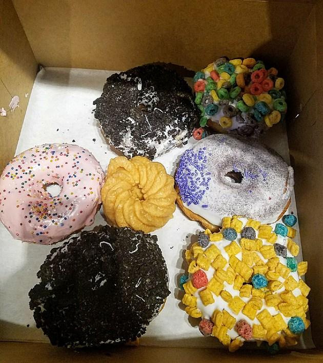 Vodoo Donuts at Universal City Walk. (Photo by Brandon Cohn)