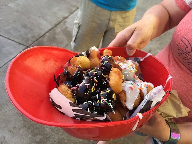 Dinger's Donuts featured at Busch Stadium in St. Louis. (Photo by Brandon Cohn)
