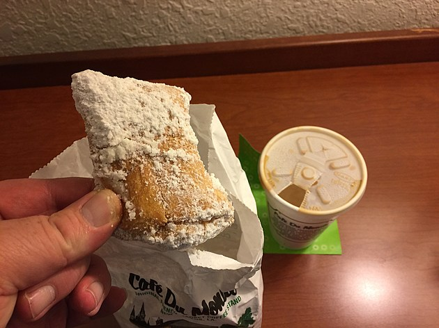 No trip to New Orleans is complete without a trip to Cafe Du Monde to try their delicious beignets.